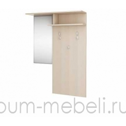 Вешалка с зеркалом арт.:111100